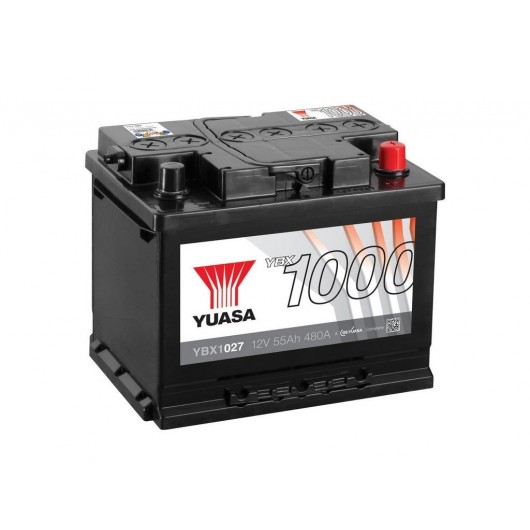 Baterie auto Yuasa 12V 55Ah (YBX1027)
