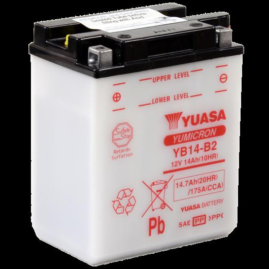 Baterie moto Yuasa YuMicron 12V 14Ah (YB14-B2)