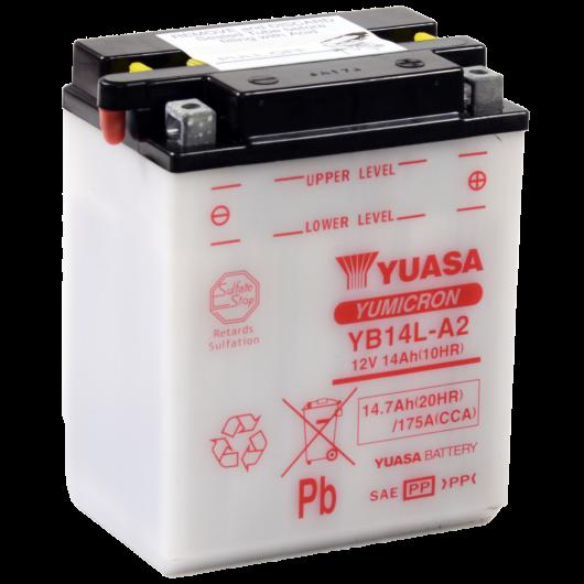 Baterie moto Yuasa YuMicron 12V 14Ah (YB14L-A2)