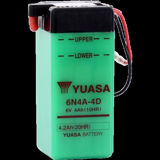 Baterie moto Yuasa 6V 4.2Ah (6N4A-4D)