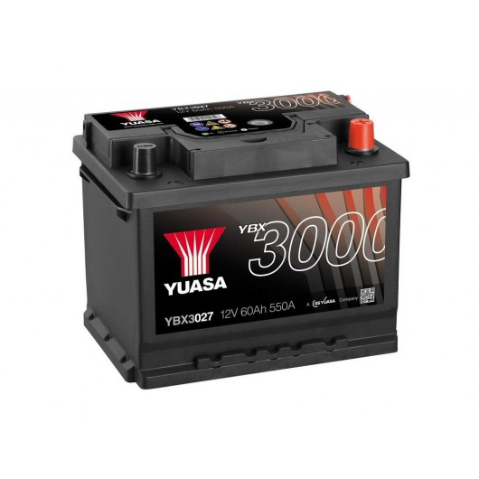 Baterie auto Yuasa 12V 60Ah (YBX3027)