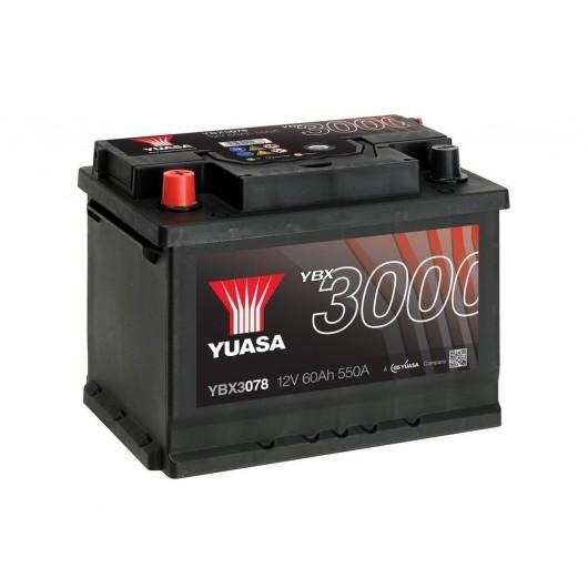 Baterie auto Yuasa 12V 60Ah (YBX3078)