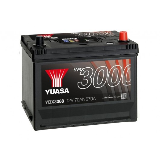 Baterie auto Yuasa 12V 70Ah (YBX3068)