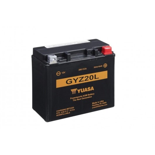 Baterie moto Yuasa FA 12V 20Ah (GYZ20L)
